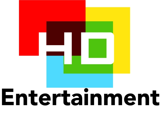 logo design HD entertainment by MTDessin