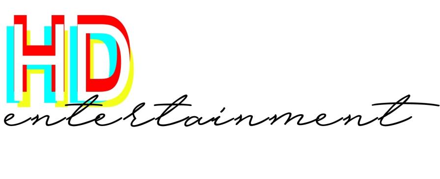 logo design HD entertainment by MTDessin