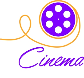 logo design cinema by MTDessin