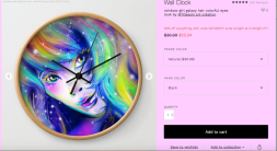impressoin by mtdessin horloge