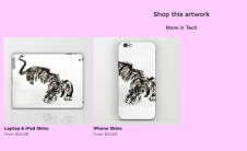 impression mtdessin tigre iphone and ipad case