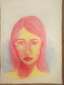 portrait aquarelle mtdessin