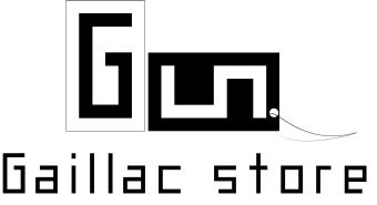 Logo Gaillac Store, boutique de prêt-à-porter en ligne, designed by mtdessin.