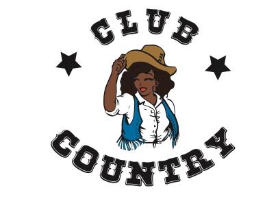 Logo Club Country, association cours de danse en ligne, designed by mtdessin.