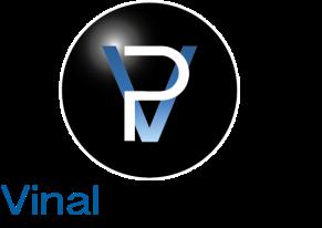 Logo Vinal Production, vidéo Maker, designed by mtdessin.