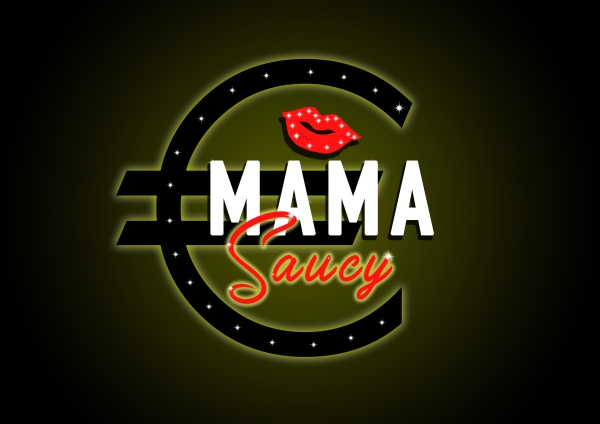 LOGO MAMA Saucy designed by mtdessin.