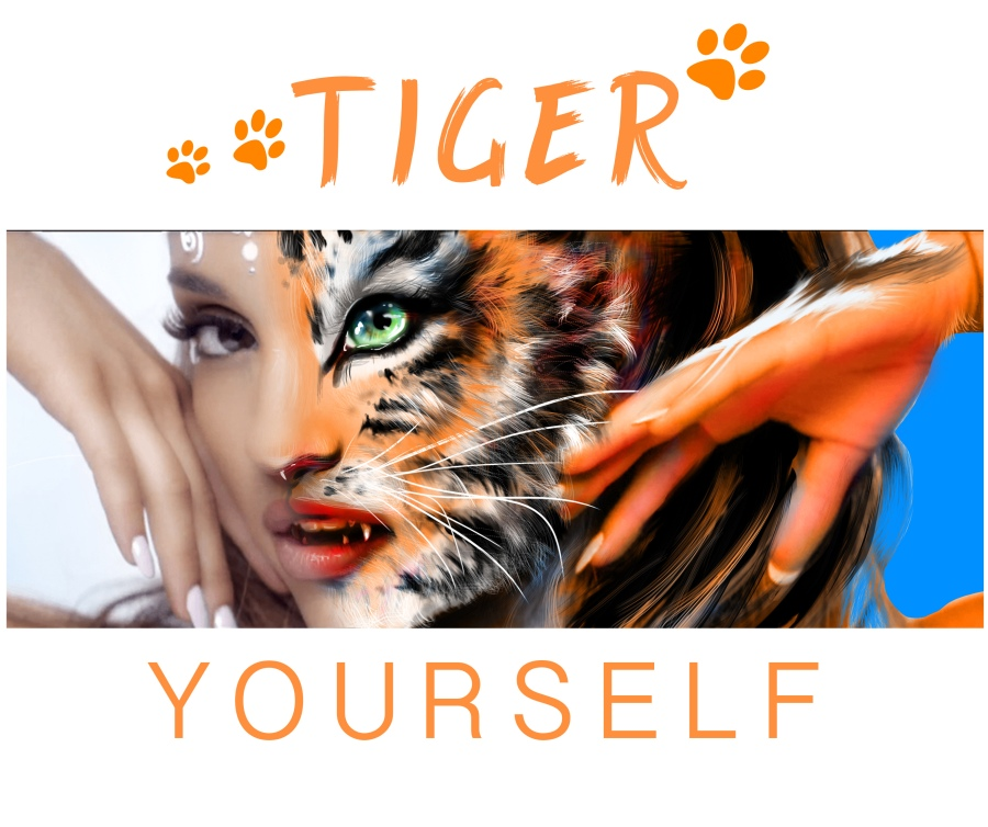 tiger your face yourself